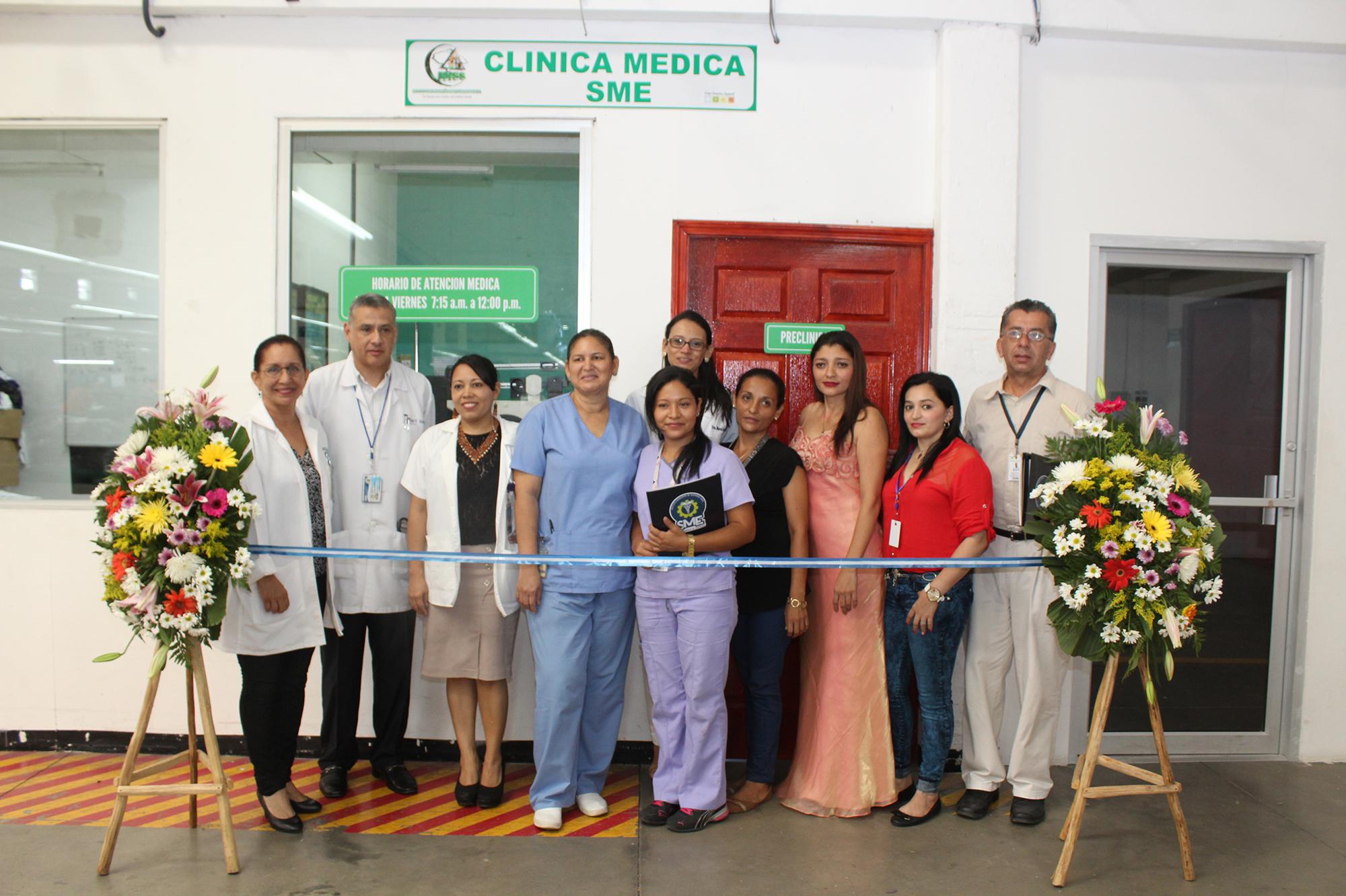 ... 118 aperturó el Sistema Médico Empresa en las instalaciones de la  fábrica Four Seasons Apparel Honduras aafc07fefb7