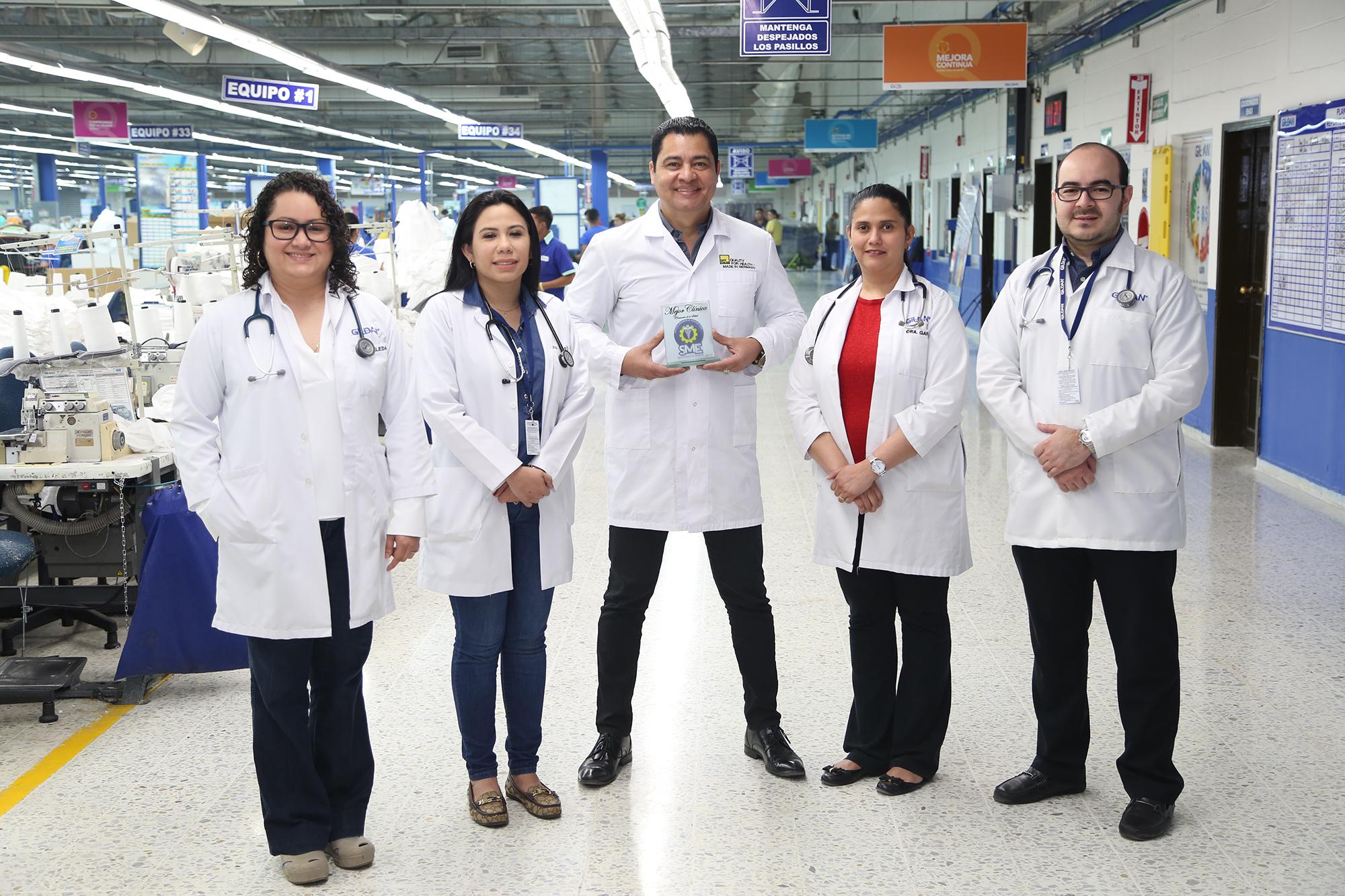 Clínica de Gildan San Antonio, la mejor en promoción de salud