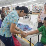 Jerzees Nuevo Día realiza feria de la Salud beneficiando a sus empleados y familiares