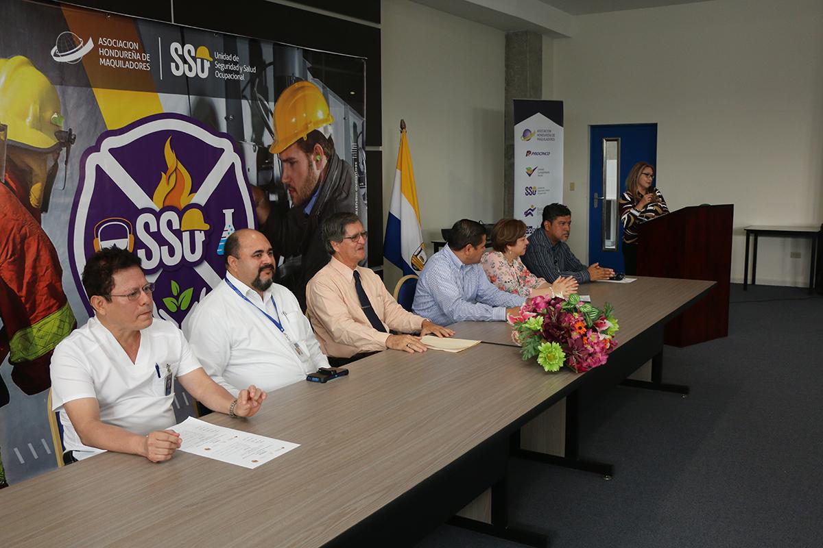 Quinto Congreso de Seguridad y Salud Ocupacional organizan AHM, INFOP y UNAH-VS en conmemoración del Día Mundial de la Salud y Seguridad en el Trabajo