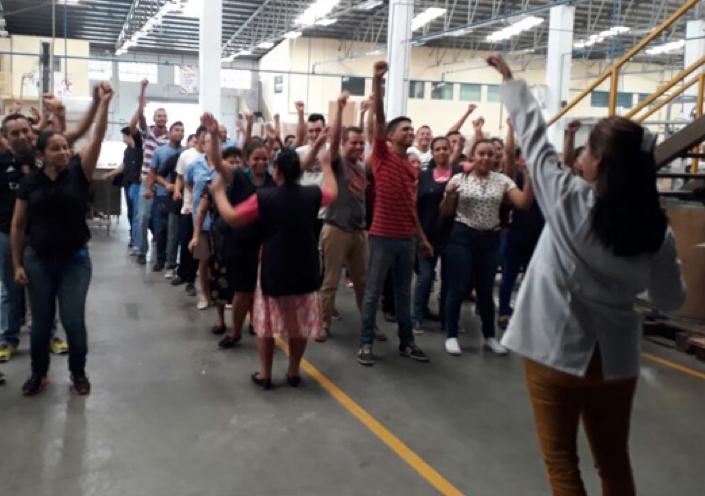 CORPORATIVO ZOLI J.E. HANDAL CELEBRA SEMANA DE SEGURIDAD Y SALUD OCUPACIONAL
