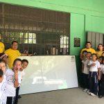 CEIBA TEXTILES CONTINÚA PROYECTÁNDOSE EN LOS CENTROS EDUCATIVOS DEL SECTOR DE OCCIDENTE