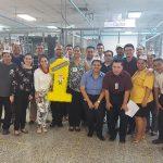 HANESBRANDS COMPARTE MEJORES PRÁCTICAS DE SEGURIDAD INDUSTRIAL CON EMPLEADOS