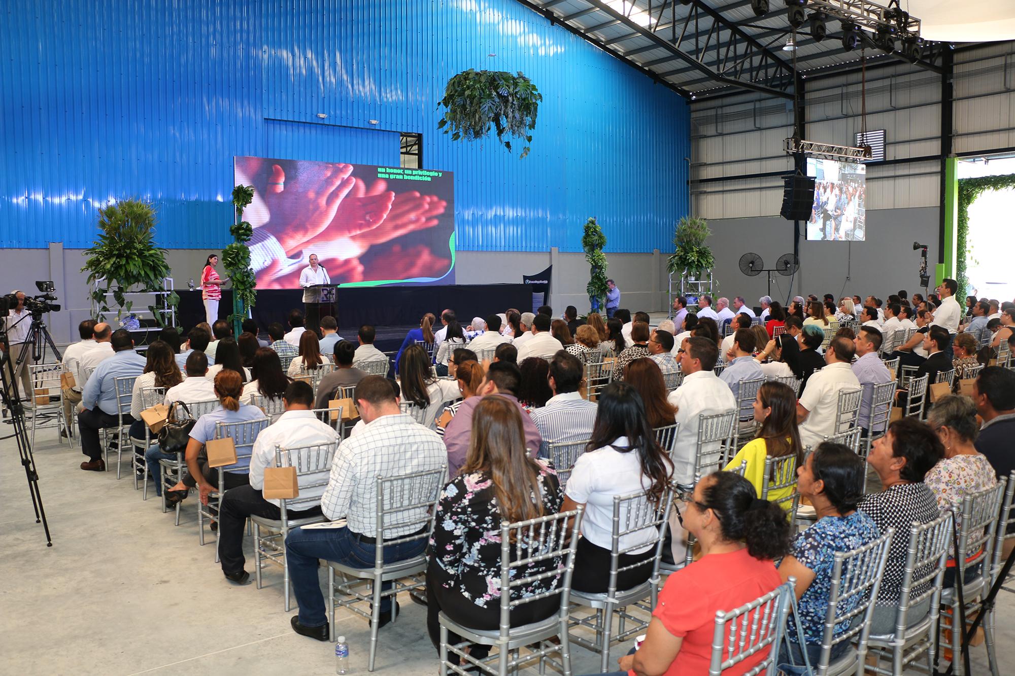 """Con una inversión de 20 millones de dólares:RCJ Corp, inaugura en Honduras el primer parque privado Logístico químico industrial """"Estela Joch"""""""
