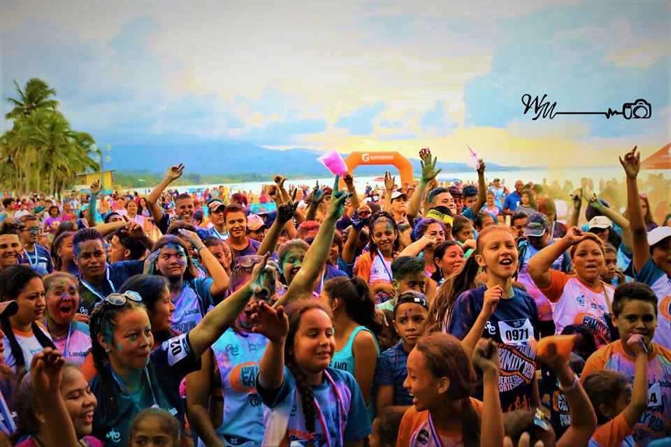 TERCERA EDICIÓN DEL LAND FAMILY COLOR RUN