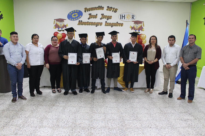 PROGRAMA DE EDUCACIÓN CONTINUA DE ASTRO CARTÓN HONDURAS CELEBRÓ SUS ACTOS DE GRADUACIÓN PROMOCIÓN 20018