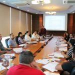 AHM capacita a comisión bipartita y red de sindicatos en gestión de riesgos ergonómicos.