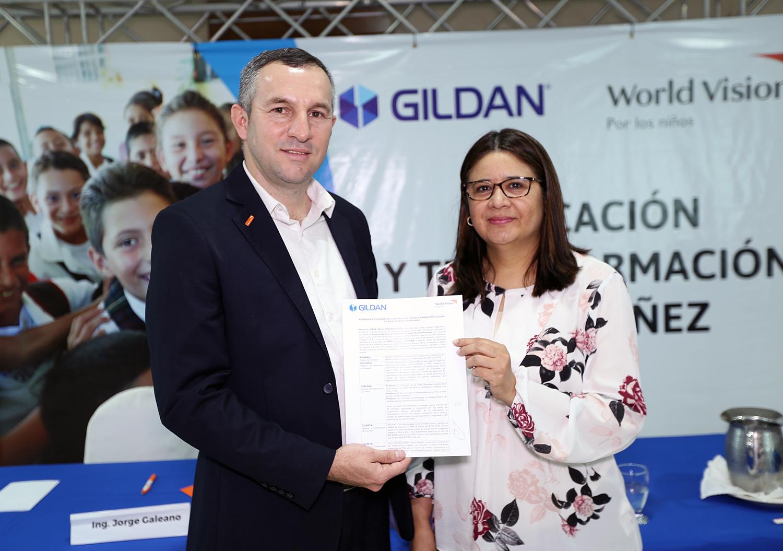 GILDAN Y WORLD VISION: ALIADOS PARA LA TRANSFORMACIÓN DE LA NIÑEZ