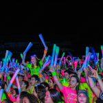 Gildan Glow Run hace brillar San Pedro Sula por sexto año