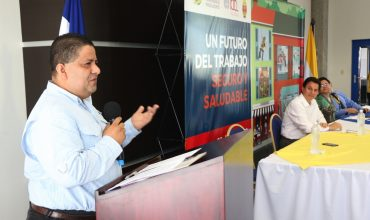 """Bajo el lema: """"Un futuro del trabajo seguro y saludable""""   AHM realiza  VI Congreso sobre Salud y Seguridad en el Trabajo, en la UNAH-VS"""