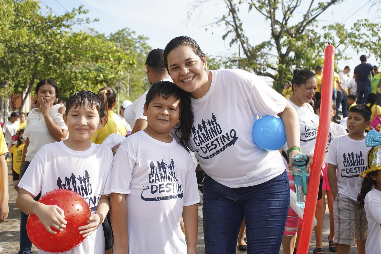 """CAMINATA """"CAMINO CON DESTINO"""" A FAVOR DE SALAS DE EMERGENCIAS DE HOSPITALES MARIO C. RIVAS Y EL PROGRESO"""