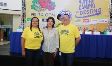FRUIT OF THE LOOM ORGANIZA SEXTA CAMINATA FAMILIAR A FAVOR DE SALA DE EMERGENCIAS DE HOSPITAL «MARIO C. RIVAS»