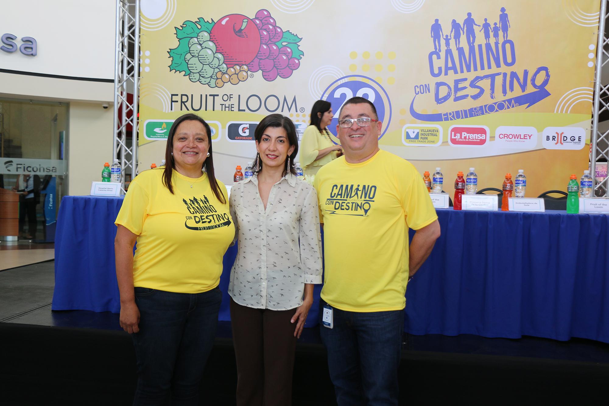 FRUIT OF THE LOOM ORGANIZA SEXTA CAMINATA FAMILIAR A FAVOR DE SALA DE EMERGENCIAS DE HOSPITAL «MARIO C. RIVAS»
