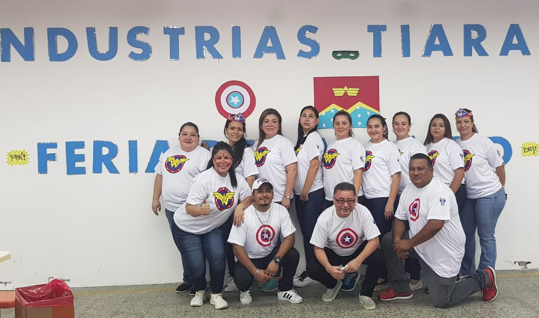 INDUSTRIAS TIARA ORGANIZA FERIA DE LA SALUD INFANTIL