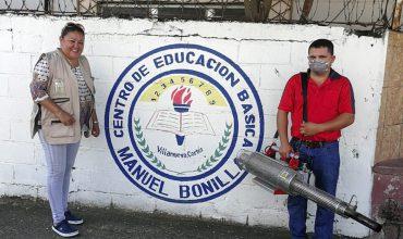 YKK REALIZA JORNADA DE FUMIGACIÓN EN CENTROS EDUCATIVOS Y LUGARES ALEDAÑOS DONDE OPERA