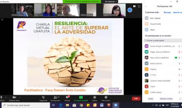"""""""RESILIENCIA, El arte de superar la adversidad"""" otra exitosa charla virtual ofrecida por Procinco"""
