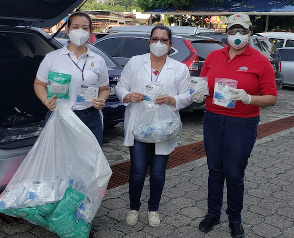 FRUIT OF THE LOOM Y SUS ASOCIADOS VOLUNTARIOS APOYAN HOSPITALES EN EMERGENCIA COVID-19
