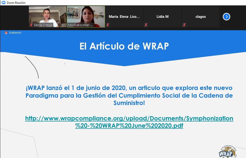 """WEBINAR: """"ABASTECIMIENTO RESPONSABLE EN EL MUNDO POSPANDÉMICO"""""""