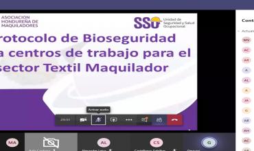 Cambios en el protocolo de bioseguridad, revisión 4.0 y agregados necesarios según la evolución de la pandemia. Charla virtual impartida por la AHM