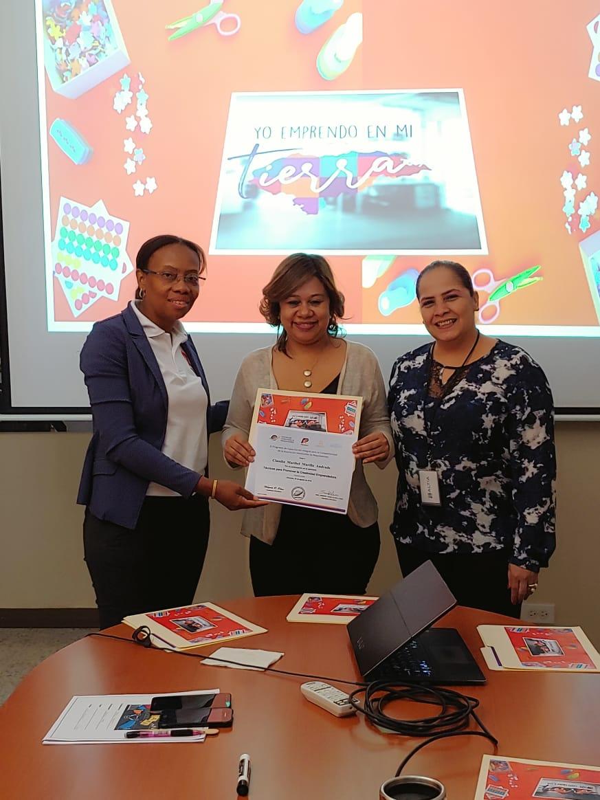 """AHM Inaugura """"Zona Yo Emprendo"""" y Línea de Asistencia Empresarial"""