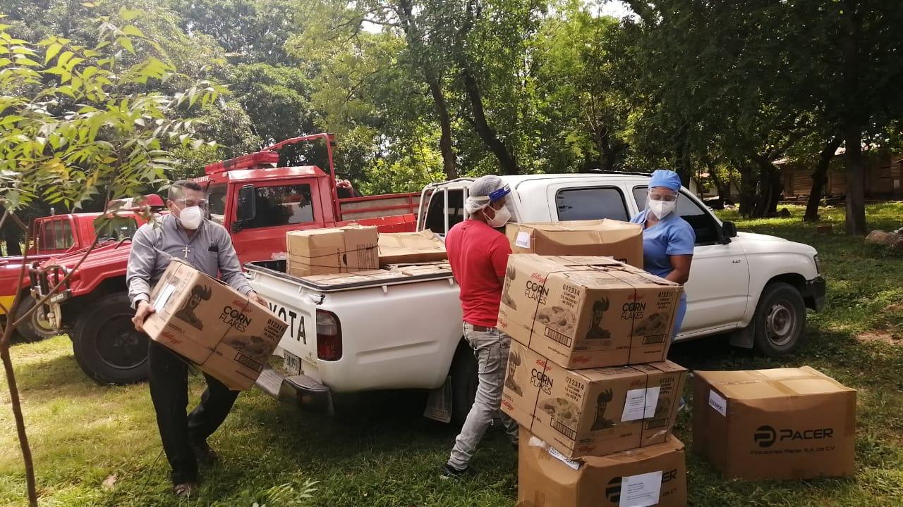 Maquiladores continúan sus acciones solidarias, ahora en Choluteca donando equipo de protección personal