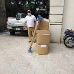 Más de 70 mil mascarillas y otros insumos dona AHM a iglesias de San pedro Sula y otras instituciones