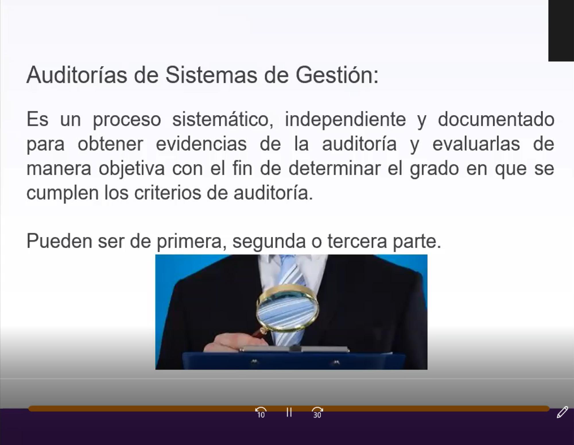 """WEBINAR: """"AUDITORÍAS VIRTUALES EN SISTEMAS DE GESTIÓN"""""""