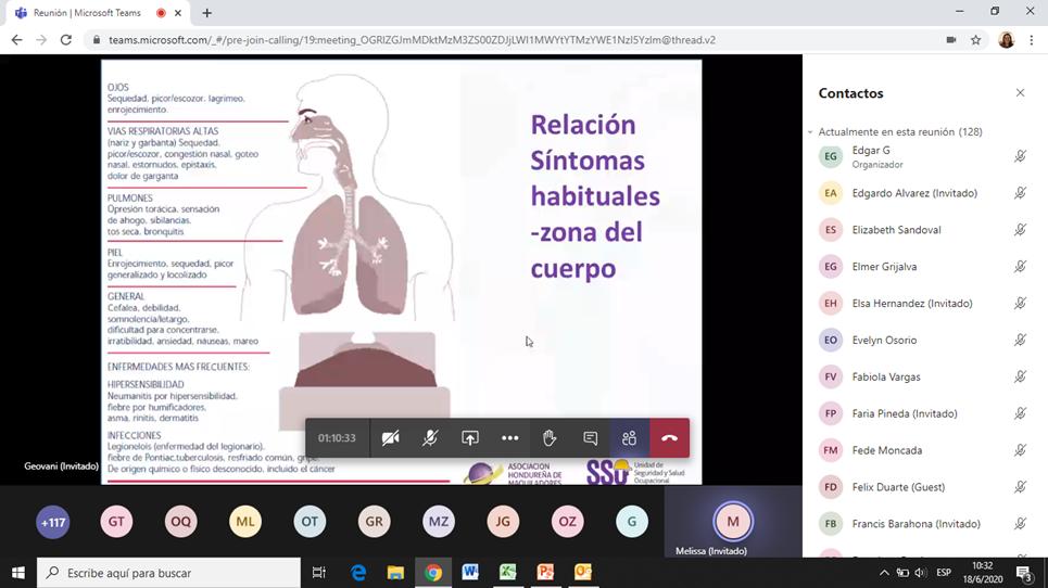 """""""Riesgo Biológico y Calidad de Aire"""". Otra charla virtual gratuita que la AHM desarrolló a través de su unidad de SSO."""