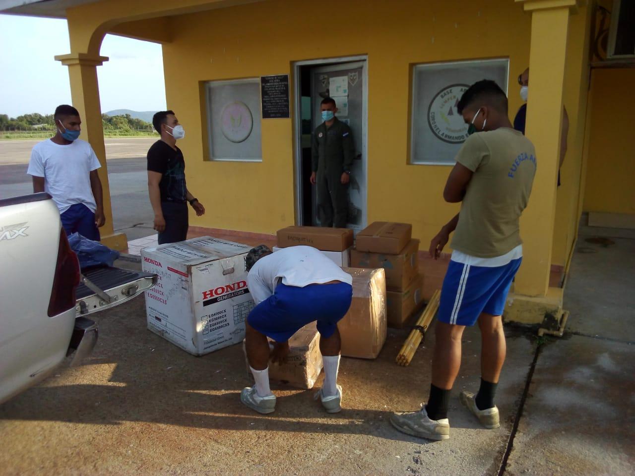 SOLIDARIDAD: AHM e ICCE envían importante donativo a La Mosquitia