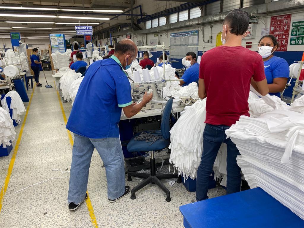 Secretaría de Trabajo verifica protocolos de bioseguridad en 60% de las maquilas