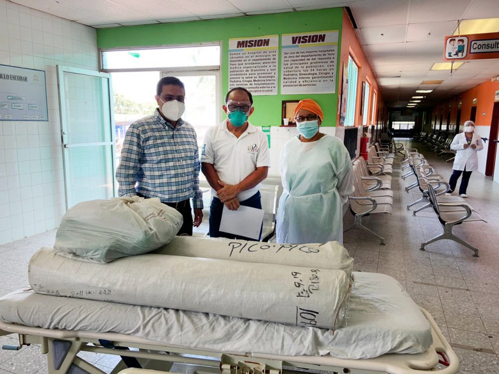 "FRUIT OF THE LOOM REALIZA DONACIÓN AL HOSPITAL ""DR. ANÍBAL MURILLO"" DE OLANCHITO"