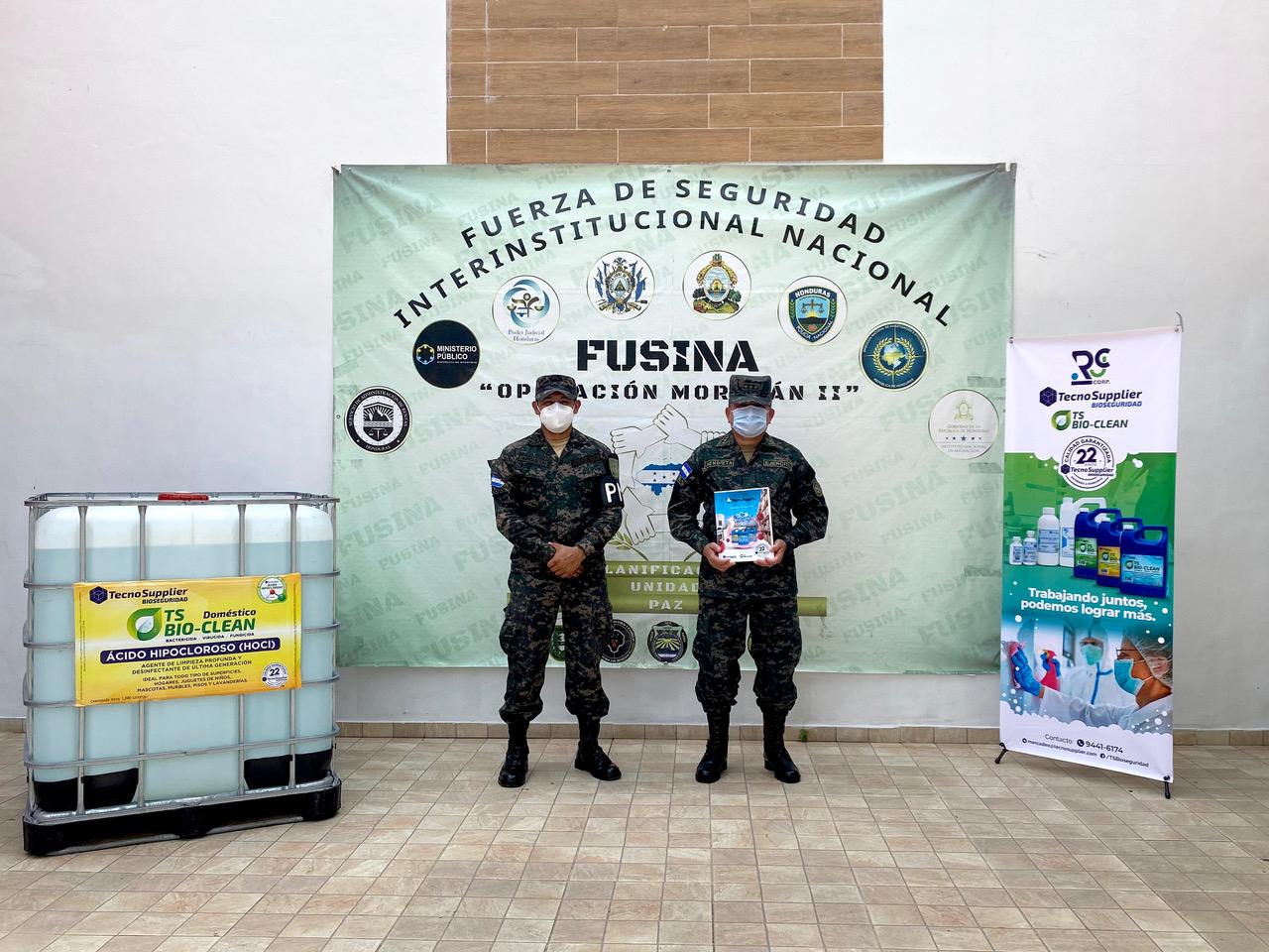 GRUPO RCJ DONA PRODUCTO PARA IMPLEMENTAR PROTOCOLOS DE BIOSEGURIDAD EN VARIAS INSTITUCIONES