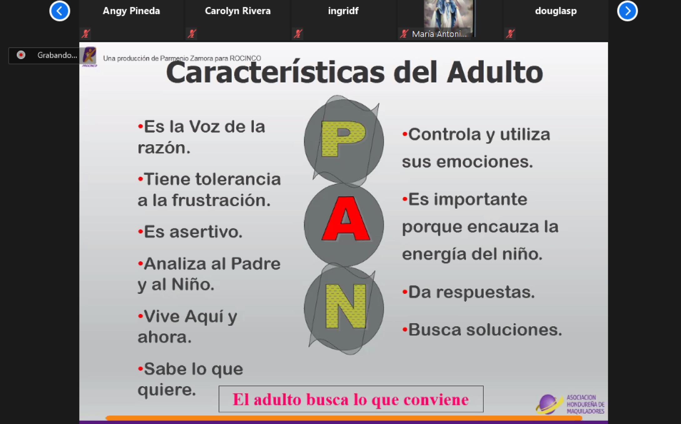 PERSONALIDADES EN CONFINAMIENTO-EL ARTE DE APACIGUAR LAS ACTITUDES INFANTILES