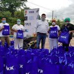 YKK HONDURAS ENTREGA ALIMENTOS A 200 FAMILIAS