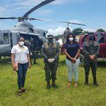 Médicos de Brus Laguna, en La Mosquitia, reciben donación de AHM e ICCE