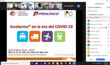 Incoterms® 2020 en la era del COVID-19, todo un éxito el seminario Online de Procinco
