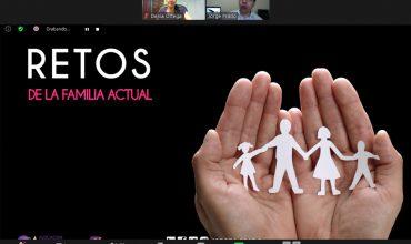 """WEBINAR: """"RETOS DE LA FAMILIA ACTUAL"""""""