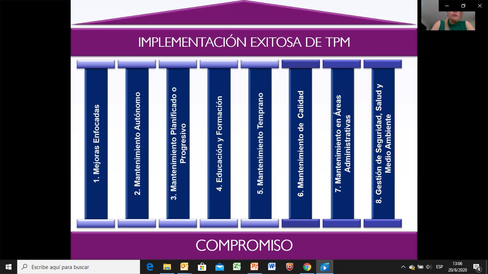 """""""TPM: HERRAMIENTA ESTRATÉGICA DE MEJORA CONTINUA"""""""