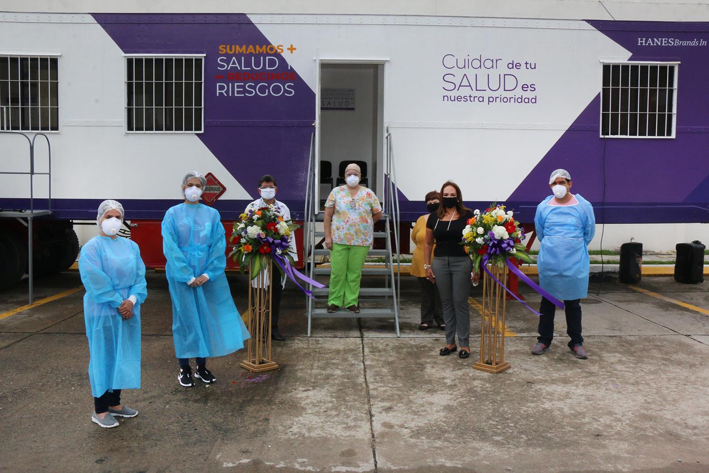 HANESBRANDS INAUGURA CLÍNICAS MÓVILES PARA VILLANUEVA Y CHOLOMA
