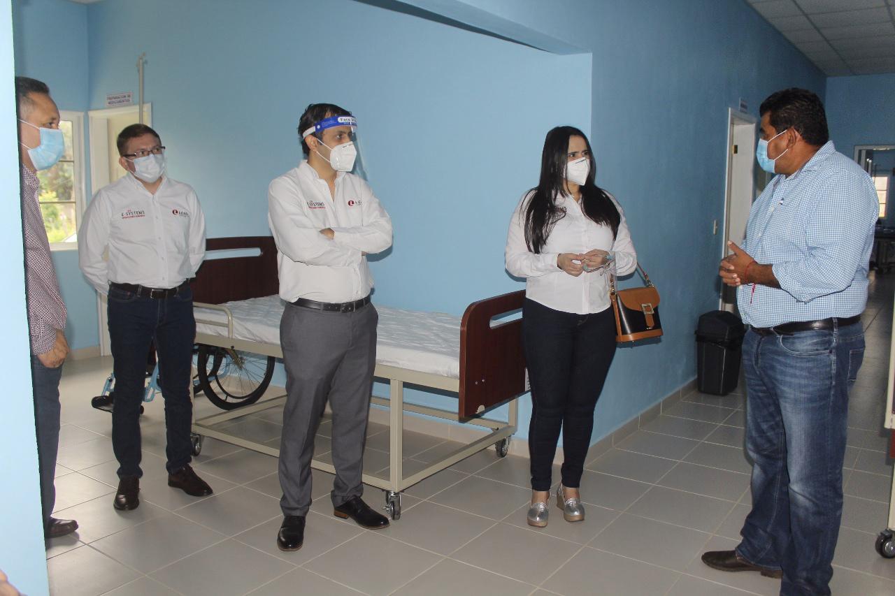 MÁS DE $30,000 EN EQUIPO DONAN LEAR Y SUS COLABORADORES PARA CENTRO DE TRIAJE DE AZACUALPA, SANTA BÁRBARA