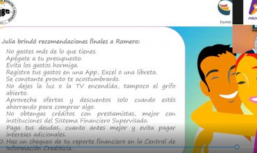 "WEBINAR: ""SALUD FINANCIERA"""