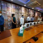 INDUSTRIA SOLIDARIA: MAQUILADORES DONAN EQUIPO MÉDICO VALORADO EN UNOS 8 MILLONES DE LEMPIRAS
