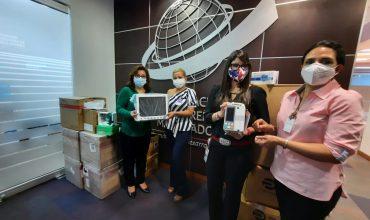 Maquiladores donan equipo médico a Región Sanitaria de Ocotepeque