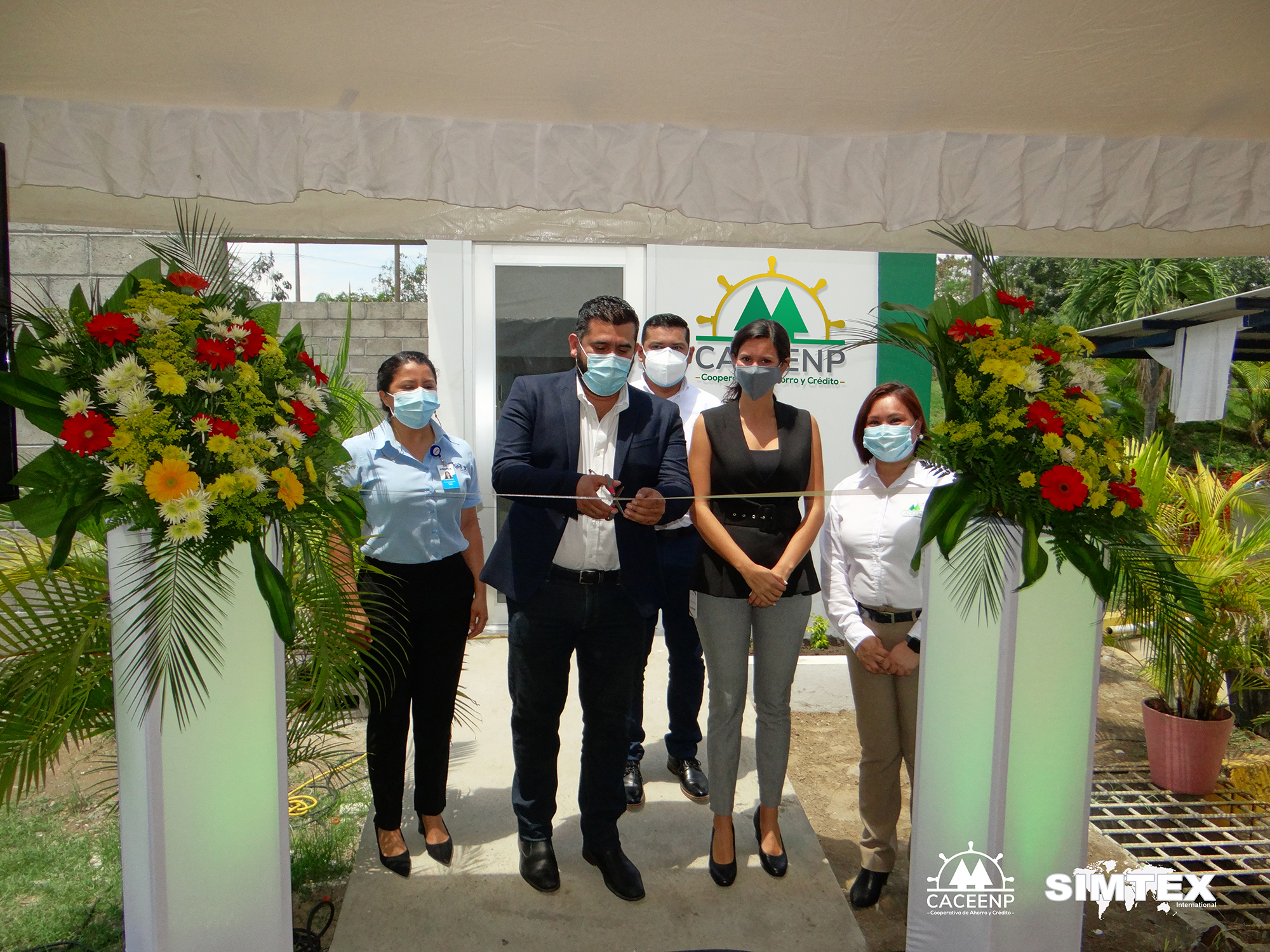 SIMTEX INAUGURA FILIAL DE COOPERATIVA CACEENP