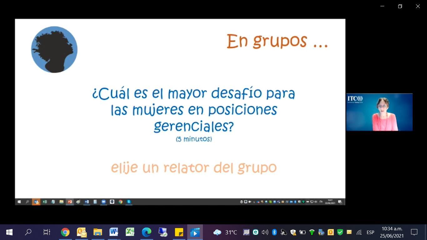 AHM y OIT: Imparten curso MALKIA para empoderar a la mujer en Latinoamérica