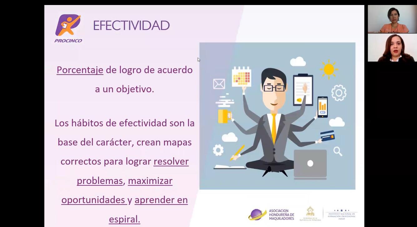 WEBINAR: HÁBITOS DE EFECTIVIDAD EN EL TRABAJO