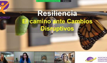RESILIENCIA, EL CAMINO ANTE CAMBIOS DISRUPTIVOS
