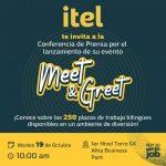 ITEL INVITA A PARTICIPAR EN SU FERIA DE EMPLEO MEET & GREET