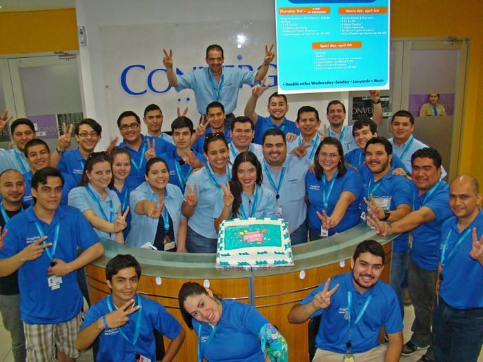 Convergys celebra 2 años en Honduras
