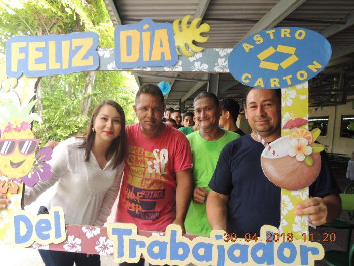 ASTRO CARTÓN HONDURAS AGASAJA COLABORADORES EN SU DÍA